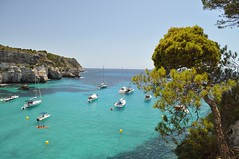 Cala Macarella (crwilliams) Tags: spain day cloudy menorca calamacarella