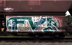 GRAFFITI (wojofoto) Tags: graffiti amsterdam wojofoto cargotrain traingraffiti freighttraingraffiti freighttrain fv wolfgangjosten