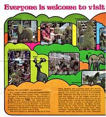 Inn of Tomorrow Brochure (Jasperdo) Tags: california motel ephemera orangecounty anaheim brochure travelbrochure topiarytrees innoftomorrow wonderlandoftopiarytrees alstovall
