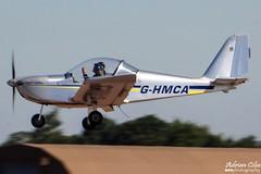 Private --- Evektor-Aerotechnik EV-97 Teameurostar --- G-HMCA (Drinu C) Tags: plane private aircraft sony panning dsc ffd fairford riat ev97 theroyalinternationalairtattoo egva evektoraerotechnik teameurostar ghmca hx100v adrianciliaphotography