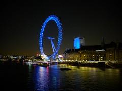 (John Weed Photos) Tags: night digital londoneye fujifilm x20