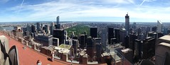 View from Top of The Rocks over Central Park!