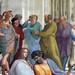 Raphael, Socrates (in green)