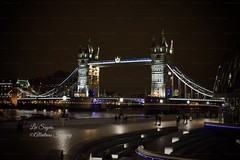 Tower Bridge London. (Albatross Imagery) Tags: river riverthames londonphotography nightphotography landscapephotography photographer photography photo lights capitalcity capital england uk bridge nightscape nikkor nikon cityscape city landscape london towerbridgelondon towerbridge