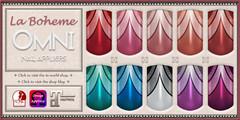 La Boheme Gatsby Nails (ariannajasminesl) Tags: laboheme nails