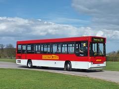 Orpington Buses - D41 - P411MLA (Waterford_Man) Tags: orpingtonbuses dart d41 p411mla plaxtons bromleybuspreservationgroup bbpg
