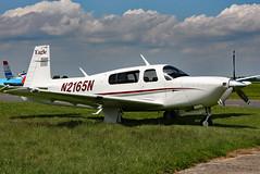 N2165N (GH@BHD) Tags: n2165n mooney m20 m20s eagle coulommiers coulommiersairfield aircraft aviation