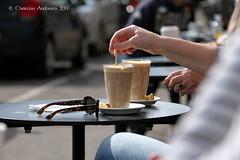 ... Café au lait, Sunshine & 19C ... (ChristianofDenmark) Tags: christianofdenmark copenhagen denmark springtime coffee sunshine