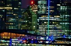 City Lights (petejam70) Tags: vancouvercanada downtown night urban cityscape