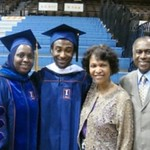 Graduation May 2011, Dr. Barro and CAS Joint Degree graduate, Nathaniel Moore and family.
