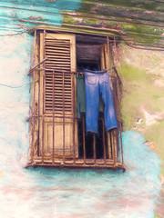 Havana Window (Artypixall) Tags: cuba havana window shutters clotheslines pants facade home urbanscene faa getty