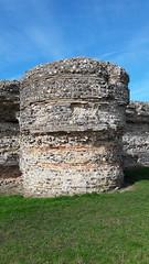 Bastion at Burgh Castle (Tico Productions) Tags: bastion burghcastle