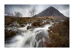 Grandeur (Lindi m) Tags: scotland ballachulish glencoe mountain waterfall glenetive grandeur cascades buchai buchailleetivemor buchaille