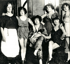 Ladies Of the Night (~ Lone Wadi ~) Tags: prostitutes prostitution brothel bordello retro 1910s ladies