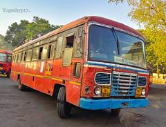 Sangli - Rajapur (yogeshyp) Tags: msrtc maharashtrastatetransport msrtcparivartanbus sanglirajapurstbus rajapurdepotbus