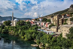 Mostar, Bosnia&Herzegovina (Andrija Zecevic Photography) Tags: canon eos 700d kit lens lenses 1855mm is stm beautiful sunny summer day clouds cloudporn cloud mahala mostar bosnia herzegovina bih 2016 juli travel travelphotography travelling landscape landscapephotography photo photos photography old houses buildings
