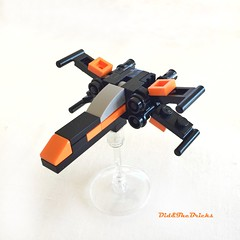 Xwing episode 7 (did b) Tags: xwing starwars moc microscale lego legomoc legocreation legodesign