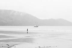 (julianasanc) Tags: ubatuba brasil brazilpraia beach mar sea nikon d610 pretoebranco blackandwhite pb bw noiretblanc blancoynegro nb bn monochrome monochromatic escuna schooner barco boat man only one alone homem sozinho solitario solidao