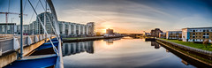Finnieston (ianmiddleton1) Tags: glasgow sunrise panorama finnieston hdr hss sliderssunday