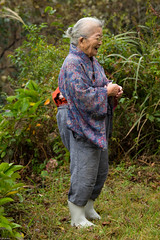 the last lady (Andi [アンデイ]) Tags: kurumidani japan kyoto kyotango mountain village rural ruraljapan nature people forest tea greentea macha food photography