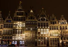 Grote markt Antwerpen (Stijn Daniels) Tags: grote markt antwerpen antwerp night city houses longexposure canon rebel 600d