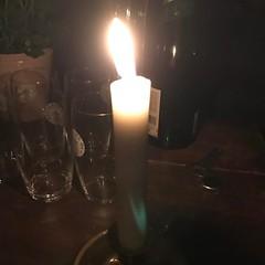 Nu är det stearinljuset som gäller i en timme. #earthhour2017 #hållbart #energi #varräddomvårvärld (ulricalyhnakis) Tags: instagramapp square squareformat iphoneography uploaded:by=instagram