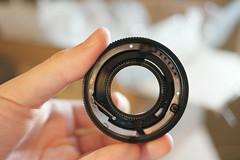 lens repair contax zeiss 3570 f34 vario sonnar