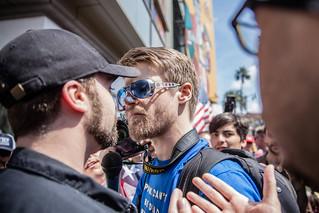 Trump March, Hollywood.