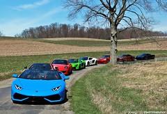 Sometimes Getting Lost Isn't So Bad (FourOneTwo Photography) Tags: lamborghinihuracanspyder mclaren650s 650s porsche911carrera4s mclarenmp412c 12c porsche911turbo 996 audir8gt r8gt ferrari458italia 458 auto car exotic sportscar supercar supercarspersonified fouronetwophotography