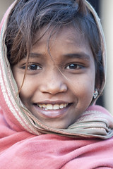 Gond girl (wietsej) Tags: gond girl kawardha chhattisgarh india sony a700 70200 sal70200g child portrait