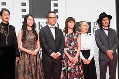 "Cast & Crew from ""Hello, Goodbye"" at Opening Ceremony of the Tokyo International Film Festival 2016"
