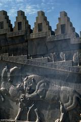 Found Photo - Iran - Persepolis - Archeological Site 18.tif (David Pirmann) Tags: iran ruins archeology persia persian unesco worldheritage xerxes parsa takhtejamshid achaemenid dpfoundphotoasia1976 persepolis