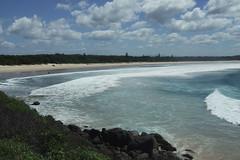 I Don't Care About You (Swebbatron) Tags: australia newsouthwales crescenthead hathead beach surf surfari travel fuji 2008 backpacker radlab sufer waves ocean sand