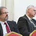 Jenik Péter, miniszterelnök-helyettesi kabinetfőnök és Dr. Aradszki András energiaügyért felelős kereszténydemokrata államtitkár