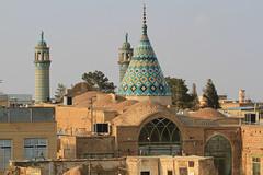 Imamzadeh-ye Sultan Mir Ahmad Shrine (Wild Chroma) Tags: imamzadehye sultan mir ahmad shrine mosque kashan iran persia minaret
