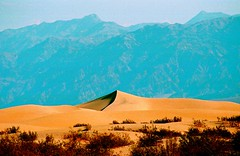 USA (ClaDae) Tags: usa nature sand dunes mountains travel world earth colors blue beige park valley outdoor travelphotography mountainscape land landscape lines curves scape scenery