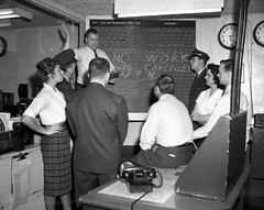 Chicago Midway Airport - TWA on Strike in 1961 (twa1049g) Tags: chicago midway airport twa 1961 strike