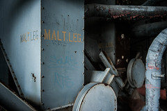 703_8052 (M Falkner) Tags: canada malt malting abandoned asbestos decay icon iconic ue urbex urban exploration toronto industrial silo grain barley outdoor beer downtown heritage