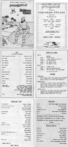 1983 Robinson Crusoe 00 Programme