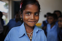 (unicefindia) Tags: 6to11yearsold girl india uniformschool chhattisgarh ind