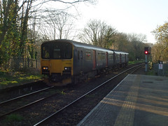 150102 Penryn (Marky7890) Tags: gwr 150102 class150 sprinter 2f89 penryn railway cornwall maritimeline train