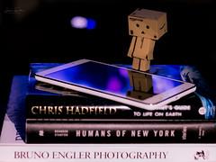 (hey ~ it's me lea) Tags: book danbo bokeh books
