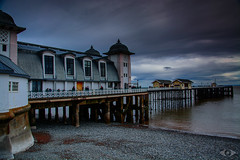 Penarth Pier. (http://www.grazynabudzenphotography.co.uk/) Tags: penarth pier cardiff beauty beach beautiful southwales south wales water walk waterscape sky skyscape sunset ngc grazynaphotography flickr argus place dark day