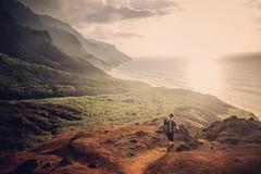 Kalalau Valley. Kauai. (Chris Arace) Tags: adventure fujifilm travel backpacker backpacking trek kauai kalalautrail ocean valley outdoors portfolio