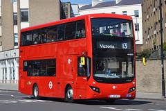 LJ17 WTC (MV38232) Tower Transit (hotspur_star) Tags: londontransport londonbuses londonbus londonbuses2017 tfl transportforlondon mcvvolvoevoseti hybridbus hybridtechnology busscene2017 doubledeck towertransit lj17wtc mv38232 13