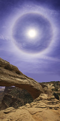 Mesa Arch (3dRabbit) Tags: mesa arch halo rock stone national park canyonlands nature outdoor vertical sky sungjinahn