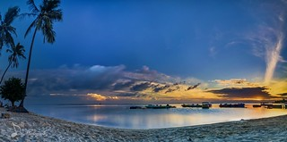 Sunrise in Paradise Island