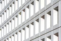 White facade (Jan van der Wolf) Tags: map170307v architecture architectuur mondriaan denhaag herhaling repetition perspectief perspective lines lijnen gebouw building facade gevel abstract composition mondriaancollege college school