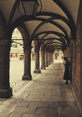 I feel your presence everywhere I go (erlingraahede) Tags: tunnel girl lines pure madness love missing moody ontheloose lübeck