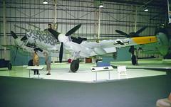730301 / D5+RL (8479M) (Paul Thallon - Aviation Photos) Tags: 730301 d5rl messerschmitt bf110 me110 luftwaffe rafmuseum hendon